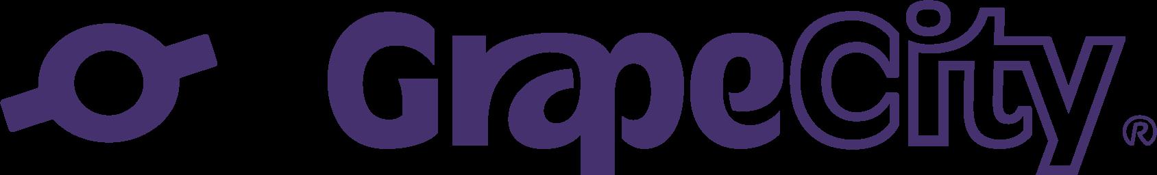 グレープシティ社のロゴ
